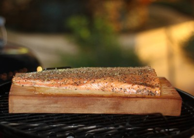 BBQ Menu - Smoked Salmon
