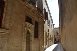 Mdina Narrow Roads